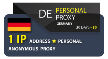 GERMANY Personal Proxy
