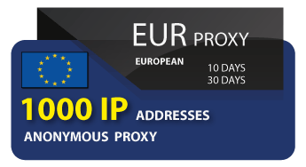 EURO Proxy 1000 IP address