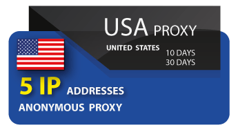 USA - 5 IP Proxy